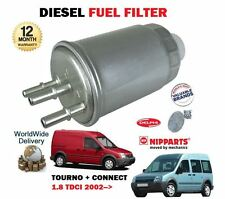 FOR FORD TRANSIT + TOURNEO CONNECT 1.8 TDCI DURATORQ 2002-  DIESEL FUEL FILTER
