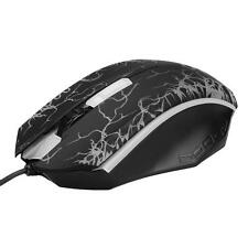 Professional 1200DPI USB Wired Athletics Gaming Mouse Optical Colorful LED Mice