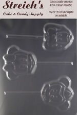 MICKEY AND MINNIE MOUSE Lollipop Chocolate Candy Molds