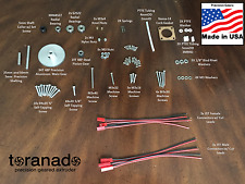 Toranado Extruder v2.1+ - Gear & Shaft Kit w/ Fasteners, Bearings and Collar