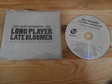 CD Indie Ron Sexsmith - Long Player Late Bloomer (13 Song) Promo COOKIN VINYL sc