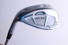 NEW CLEVELAND 588 RTX ROTEX 58/12 SATIN CAVITY LOB WEDGE STEEL SHAFT LEFT HAND
