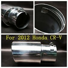 1 Pieces Stainless Steel Chrome Muffler Exhaust Tip Pipe FOR  2012 Honda  CR-V