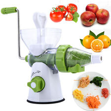 Manual Fruit Apple Juicer Hand Operate Vegetable Juice Maker Carrots Extractor