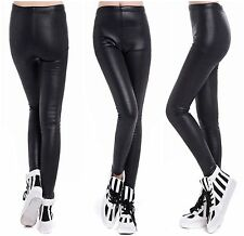HOT Sexy Damen Leggings Glanz Leggings Lack- Wetlook Leggins Leggins Hose