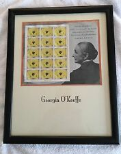 RARE Georgia O'Keefe Yellow Poppy Print