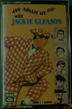 And Awaaay We Go! With Jackie Gleason (Cassette, 1986, Capitol) NEW