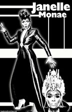 "Janelle Monae ""Black Light"" Poster (BOGO FREE)"