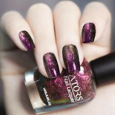 16ML Holographic Chameleon Nail Polish Starry Night Nail Art Varnish Decor