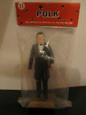 "VINTAGE JAMES POLK OUR 11TH PRESIDENT  APPROX 3"" FIGURINE BY MARX  NEW"