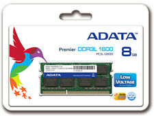 ADATA DDR3L 8GB Laptop Premier RAM 1600Mhz (ADDS1600W8G11-B) 3 Year Warranty