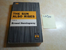 THE SUN ALSO RISES by Ernest Hemingway 1954 Paperback New Price