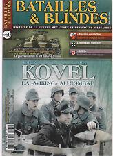 BATAILLES & BLINDES N°60 WIKING A KOVEL / 3rd ARMOURER DIV / GEKI / AFRIKA KORPS