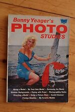 Whitestone Book 329 BUNNY YEAGER'S Photo Studies / Photography Nu Nude Model