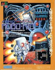 Atomic Robo-Kid Mega Drive MD 1989 JAPANESE GAME MAGAZINE PROMO CLIPPING