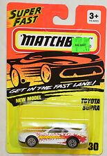 MATCHBOX 1994 NEW MODEL - TOYOTA SUPRA #30
