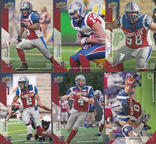 2014 CFL UPPER DECK #46 BO BOWLING MONTREAL ALOUETTES
