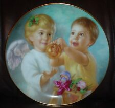 Pretty Artaffects Ltd Collectors Plate MY ANGEL From THE HEAVENLY ANGELS