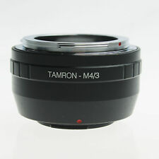 Adapter 4 Tamron Adaptall II Lens to M43 Olympus EP2 EP3 EPL3 EPL5 EM5 EMP1 EMP2