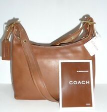 AUTH Coach NWT 9136 Mahogany Leather Legacy Convertible Xbody Shoulder Handbag