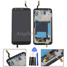 Black For LG Optimus G2 D800 D801 D803  LCD Digitizer Screen Touch Glass&Frame+T