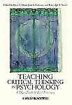 Teaching Critical Thinking in Psychology : A Handbook of Best Practices...