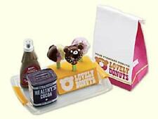 Megahouse Miniature lovely donuts candy stand chocolate caramel sause rare