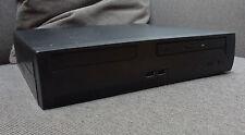 Mini ITX Gehäuse mit internem MOREX Netzteil schwarz 30x27x6,5 cm