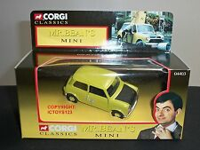 CORGI 04403 ROWAN ATKINSON MR BEAN TV SERIES FILM DIECAST MODEL GREEN MINI CAR