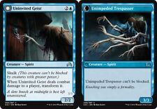 4 x Uninvited Geist - Shadows over Innistrad - Uncommon - Near Mint