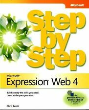 Microsoft Expression Web 4 Step by Step by Leeds, Chris