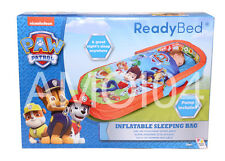 Paw Patrol Ready Bed Kids Sleeping Bag with Air Mattress & Pumpm, Headboard *New