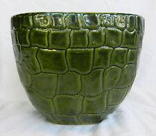 Vintage Parlane Pottery Planter - Crocodile Skin Design - Superb