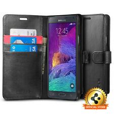 [Spigen Factory Outlet] Samsung Galaxy Note 4 Case Wallet S Black