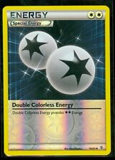 Pokemon DOUBLE COLORLESS ENERGY 74/83 - Generations - Rev Holo - MINT