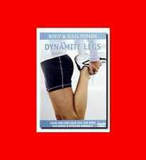 "NEW DVD÷BODY+SOUL FITNESS""DYNAMITE LEGS""EXERCISE,WORKOUT,GET FIT,LOSE WEIGHT,EXC"