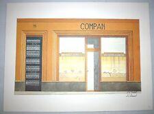 Illustration Bijouterie Compan à Marseille - Portfolio sur la ville