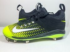 NEW NIKE MIKE TROUT 2 MENS PRO METAL BASEBALL CLEATS  Black/Neon SIZE 11.5
