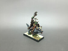 WARHAMMER FANTASY AGE OF SIGMAR ORCS AND GOBLINS HOBGOBLIN WARLORD PAINTED