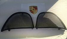 Porsche Boxster 986 Black Mesh Headrest Wind Deflectors