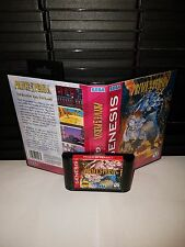 Prince of Persia 2 - The Shadow and The Flame Game for Sega Genesis! Cart & Box