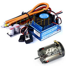 Hobbywing XERUN 120A V2.1 Sensored Brushless ESC Blue 13.5T Combo RC Car #CB0885