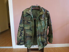 US. Air Force Military Cold Weather Field Camouflage Coat Jacket Size Small Reg.