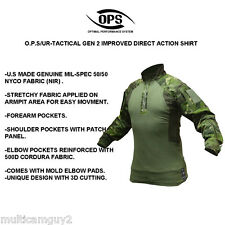 OPS / UR-TACTICAL GEN 2 Improved DA combat shirt in CRYE MULTICAM TROPIC, MR