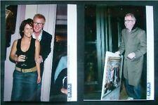 2 FÜR 1:  CHRIS EVANS zwei Pressefotos London 2005, beide 15x20 cm