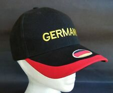 Germany Sports Cap Hat German Flag Soccer team Sport Baseball Hat Casquette