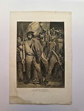 Lithographie, Aux armes citoyens !, N-T. Charlet, 1792-1845