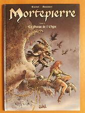 Mortepierre Tome 1. Le Sceau de l'Ogre. Aouamri - Dédicace de Tarvel- Soleil