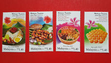 2014 Malaysia Hong Kong Joint Issue Local Food - Stamp Set