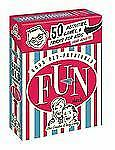 Good Old-Fashioned Fun Deck: 50 Activities, Games, and Tricks for Kids (and Adul